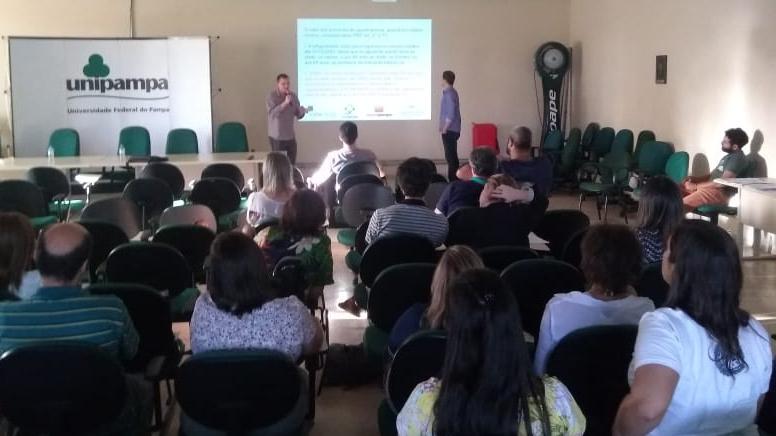 Servidores da Unipampa em Jaguarão organizam painel sobre Reforma da Previdência